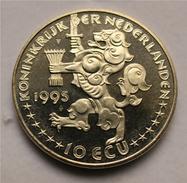 10 ECU 1995 - Olanda - Königin Wilhelmina - Paesi Bassi