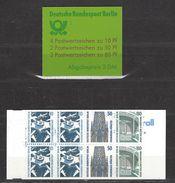 BERLIN MH Mi-Nr. 14 OZ Postfrisch - Carnets