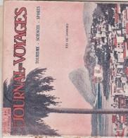 JOURNAL DES VOYAGES FEVRIER 1928 RIO DE JANEIRO - Livres, BD, Revues
