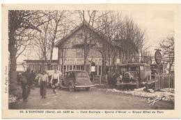 SAINT MEDIERS , L'ESPEROU - Grand Hôtel Du Parc - Sports D'Hiver, Autobus, Autos.. - Otros Municipios