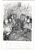 PARACHUTISME Photographie Format Cpa Parachutistes à L'intérieur D'un Avion Nord De Mille - Paracadutismo