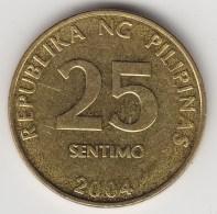 @Y@    Filippijnen   25 Centimo   2004      (3620) - Filippijnen