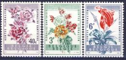 ##Belgium 1960. Flowers. Michel 1179-81. MNH(**) - Belgien