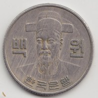 @Y@   Zuid Korea   100 Won   1972       (3628)    Zf - Korea (Zuid)