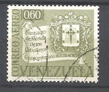 VENEZUELA   1958 Airmail - The 400th Anniversary Of Santiago De Merida De Los Caballeros     USED - Venezuela