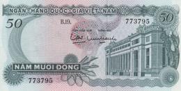 (B0649) VIETNAM - SOUTH, 1969 (ND). 50 Dong. P-25. UNC - Vietnam