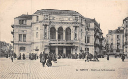 NANTES  -  Theatre De La Renaissance  .tres Animée ( Artaud Nozais  21 ) - Nantes