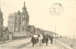 CPA Villers Sur Mer-Promenade Des Planches-RARE     L2284 - Villers Sur Mer