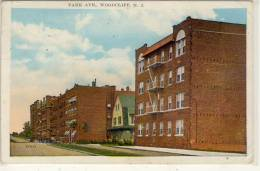 WOODCLIFF,  N. J. - Park Ave. , Used 1933 - United States