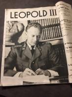 LEOPOLD Lll  Roi Des Belges  Album Contenant 24 Images  De 27.5cm  Sur 37 Cm - Zeitungen