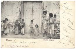 Mexico - Familia Indigena - Latapi Y Bert - Postmark 1904 - Mexico