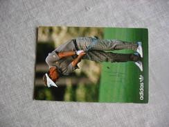 Carte Signée Du Golfeur Sandy Lyle - Golf