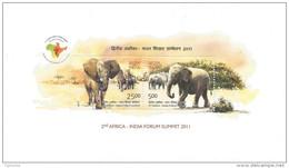 INDIA 2011 Africa-India Forum Sumit 10nos. MINIATURE SHEETS MNH