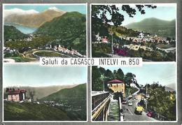 SALUTI DA CASASCO D'INTELVI (CO) - VEDUTINE - F/G -  V: 1967 - Autres Villes