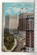 Detroit - Park Circle - Whitney Building / Statler Hotel / Tuller Hotel - Detroit