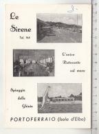 Portoferraio (Isola D'Elba) - Le Sirene - L'unico Ristorente Sul Mare - Spiaggia Delle Ghiaie - Restaurants