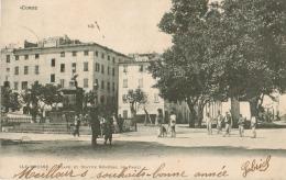 Corse - Ile Rousse - Place Et Statue Du Général De Paoli - Autres Communes