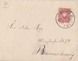 DR Brief EF Minr.41 KOS Hamburg Hohenfelde 28.6.87 - Deutschland