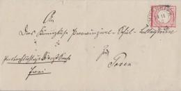 DR Brief EF Minr.4 K2 Meseritz 14.11.72 Gel. Nach Posen - Briefe U. Dokumente