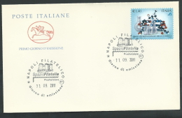 2011 ITALIA FDC CAVALLINO ANNO INTERNAZIONALE DELLA CHIMICA - CV2011-2 - F.D.C.