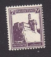 Palestine, Scott #70, Mint Never Hinged, Citadel At Jerusalem, Issued 1927 - Palestine