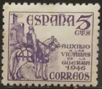 ESPAÑA 1949. Pro Víctimas De La Guerral. NUEVO - MH * - 1931-Oggi: 2. Rep. - ... Juan Carlos I