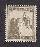 Palestine, Scott #77, Mint Hinged, Citadel At Jerusalem, Issued 1927