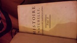 Oeuvres Complètes De M. Le Cte De BUFFON. THEORIE DE LA TERRE TOME I - 1701-1800