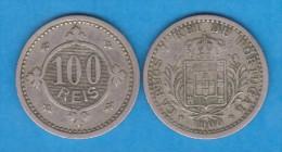 PORTUGAL (D.Carlos I 1889-1908) 100 Reis 1.910   CuNi  KM#546  MBC/VF   T-DL-10.722 - Portugal