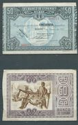ESPAGNE SPANIEN SPAIN ESPAÑA 1937 50 PTAS BANCO ESPAÑA-BILBAO (EUZKADI) - [ 3] 1936-1975 : Regency Of Franco