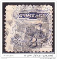 USA 1869, Locomotive, 3c, Used - Oblitérés
