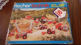 Fisher Tecknik Boîte De Base 50 - Fischertechnik