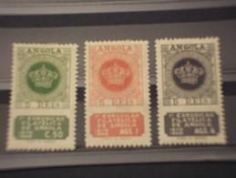 ANGOLA - 1950 ESPOSIZIONE  3 Valori - NUOVI(+) - Angola