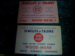 Buvard Publicitaire Semelles Et Talons WoOd Milne - Papel Secante