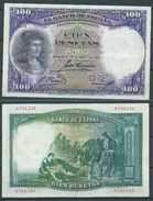 ESPAGNE SPANIEN SPAIN ESPAÑA 1931 25 ABRIL 100 PESETAS GONZALO FERNANDEZ DE CORDOBA EBC - [ 1] …-1931 : Premiers Billets (Banco De España)