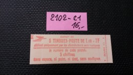 Carnet N° 2102-C1  Neuf ** à 20% De La Cote  TB - Carnets