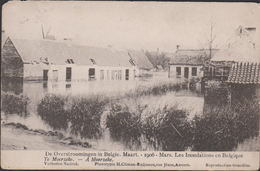 Hamme Moerzeke Ramp Der Overstroomingen Maart 1906 Les Inondations - Hamme