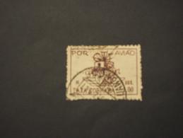 ANGOLA - P.A. 1947 STEMMA  1 A. - TIMBRATO/USED - Angola