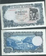 ESPAGNE SPANIEN SPAIN ESPAÑA 1971 23 DE JULIO VERDAGUER 500 PTAS UNC SC - [ 3] 1936-1975: Regime Van Franco