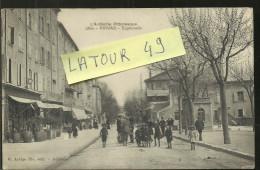 Privas         Esplanade 1915 Ecrit Par Poilu - Privas