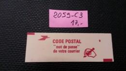 Carnet N° 2059-C3  Neuf ** à 20% De La Cote  TB - Carnets