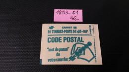 Carnet N° 1893-C1a  Neuf ** à 20% De La Cote  TB - Carnets