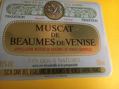 2481 - Muscat De Beaumes-de-Venise Mucat Des Papes - Blancs
