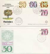 E200 (Variant) - Blanco / Open Klep (Floriade 1982) + Extra Envelop 1983 - FDC