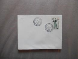 CONGRES DU PARLEMENT VERSAILLES 20-12 1963 TIMBRE LE FIFRE 0,25+0,10 - Marcophilie (Lettres)