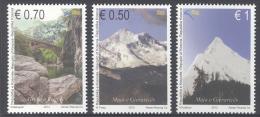 KOSOVO, 2013, MNH,MOUNTAINS, BRIDGES,3v - Geology