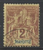 Mayotte (1892) N 2 (o)