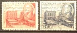 Czechoslovakia  Used (o)  1952 - # 497/498 - Czechoslovakia