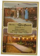 """Espagne-près Alicante--BENIDORM--carte Publicitaire""""Salon Safari"""" PROMOPIEL S.L--Haute Couture Cuir..éd Postales Galiana - Autres"""