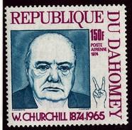 Du Dahomey Churchill  PERF  Single  MNH - Sir Winston Churchill